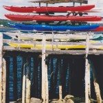 Canoes, Bailey Is, Maine, USA