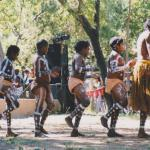 Hopevale Dance Troupe, Laura Festival, QLD, Australia