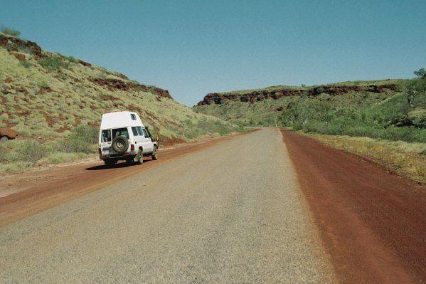 Lonely road, Pilbara, WA