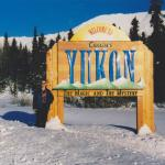 Yukon border,, Canada (-22 deg)